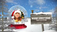 Snowglobe Photo Memories v2 - stock after effects