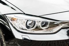 Stock Photo of Headlight lamp car