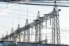Power plant for small city Kuvituskuvat