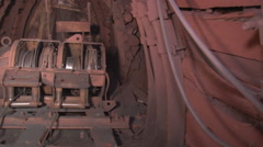 Stock Video Footage of Scraper winch general view