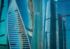The Moscow International Business Center - stock photo