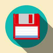 Floppy disk icon Stock Illustration