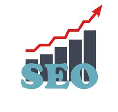 Stock Illustration of SEO - Search Engine Optimization Flat Icon Vector Illustration