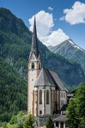 Church in Heiligenblut - stock photo