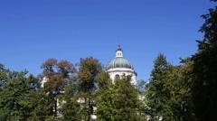 Stanislaw Kostka Potocki Mausoleum in Wilanow Stock Footage