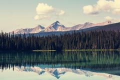 Stock Photo of Emerald lake