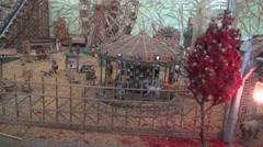 Miniature Fair Stock Footage