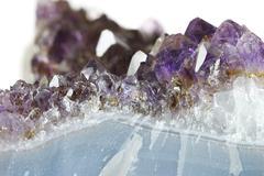 Amethyst Crystal Stock Photos