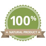 100% Natural Product - stock illustration
