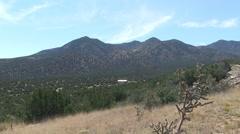 Desert near Santa Fe, New Mexico Stock Footage
