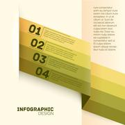 Paper options template vector illustration Stock Illustration