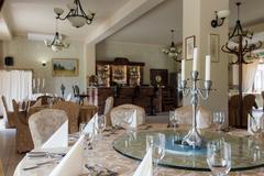 Stock Photo of Elegant banquet room