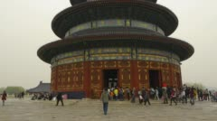 Temple of Heaven - Hall of Prayer for Good Harvests Stock Footage