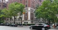 Typical Manhattan Apartment Building Establishing Shot Stock Footage