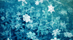 Snowflakes falling video background - Snowflakes 106 HD, 4K Stock Footage