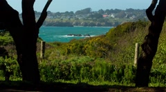 Town of Mendocino Stock Footage