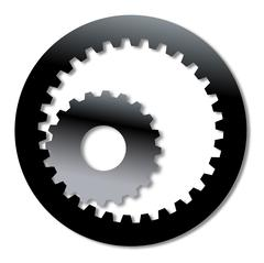 Gearbox Internal Gearing - stock illustration