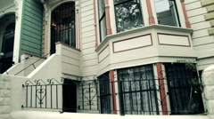 San Francisco Neighborhood Pan Stock Footage