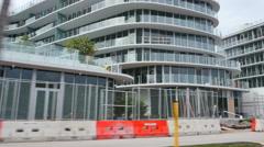 Miami Beach construction sites Stock Footage