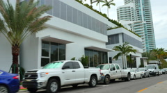 Miami Beach south of 5th Street Stock Footage