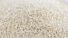 Quinoa Grains Falling Stock Footage