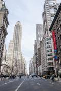 Street in Midtown Manhattan - stock photo