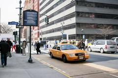 Stock Photo of 9th Avenue in Manhattan