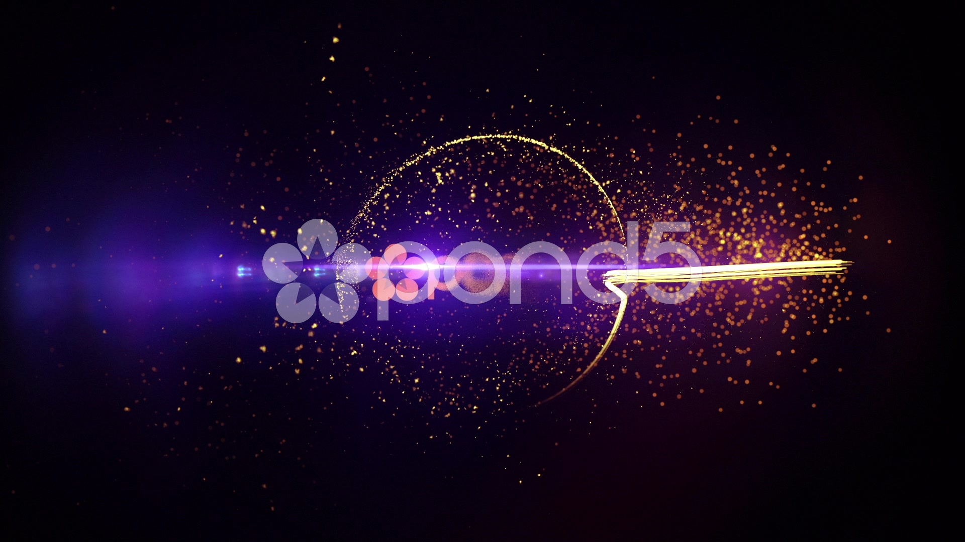 After Effects Project - Pond5 Fire Particle Logo 58092409