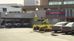 Generic Hospital Emergency Department (Static) Stock Footage