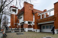 Kobrin Military Historical Museum named Alexander Suvorov, Belarus - stock photo