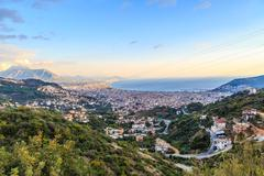 Day View of Alanya Castle Stock Photos