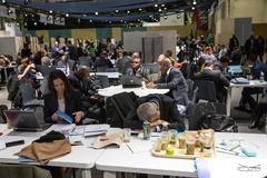 Work of press during UN Conference on Climate Change Kuvituskuvat