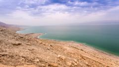 Dead Sea Twilights, Israel - stock footage