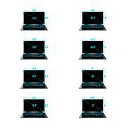 Set of the sizes of a matrix - stock illustration