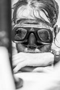MONTREAL, CIRCA JUNE 2014 - Two Hot Spring Days of Freediving Competition at  Stock Photos