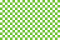 Green seamless pattern chessboard Stock Illustration