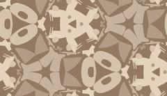 Seamless Brown Abstract Wallpaper Stock Illustration