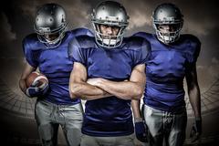 Composite image of american football team Kuvituskuvat