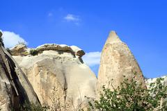Fairy Chimneys in Cappadocia Stock Photos