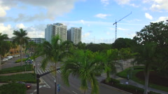 Young Circle Park Hollywood FL Stock Footage