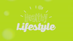Stock Video Footage of Lifestyle icon design, Video Animation