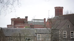 Reading Prison, England, Europe Stock Footage
