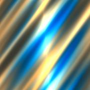 Abstract blurred white blue colored lines. Motion blur lines. Funky design. - stock illustration