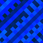 Abstract blue diagonal squares background. Artificial art style. Wallpaper. - stock illustration