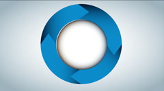 Circle icon design, Video Animation Stock Footage