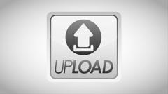 Upload icon design, Video Animation Stock Footage