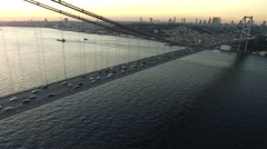 Istanbul Bosphorus Bridge Pack - stock footage