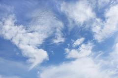 Amazing clouds of various forms Stock Photos