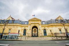 The National Conservatory of Arts and Crafts, Paris, France Stock Photos