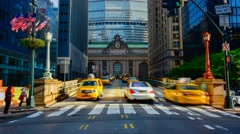 USA, New York, Manhattan, Grand Central Station Stock Footage